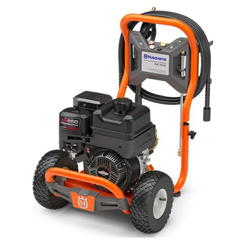 2018 Husqvarna Power Equipment 3200 Gas Pressure Washer (967 05 89-01) in Berlin, New Hampshire