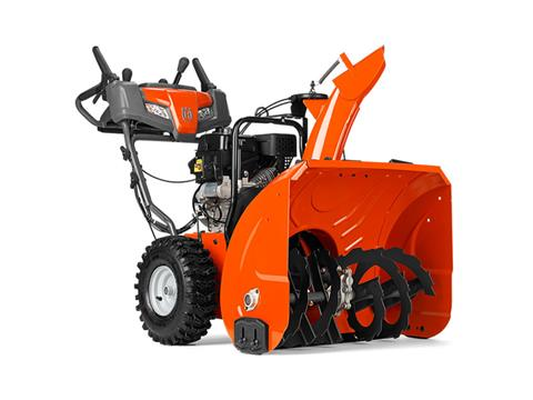 2018 Husqvarna Power Equipment ST 227P Snow Blower in Saint Johnsbury, Vermont