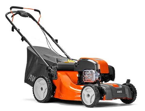 2019 Husqvarna Power Equipment LC221AH Walk Behind Mower Briggs & Stratton in Saint Johnsbury, Vermont