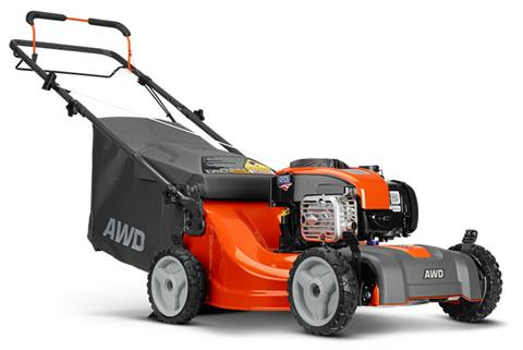 2019 Husqvarna Power Equipment LC221A Walk Behind Mower Briggs & Stratton in Fairview, Utah