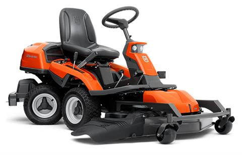 2019 Husqvarna Power Equipment R322T 41 in. AWD Articulating Mower Briggs & Stratton in Berlin, New Hampshire