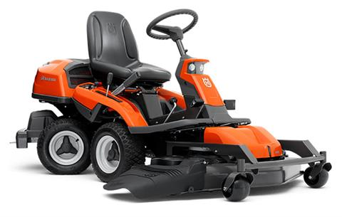 2019 Husqvarna Power Equipment R322T AWD With Side Discharge Deck 41 in. Briggs & Stratton in Saint Johnsbury, Vermont