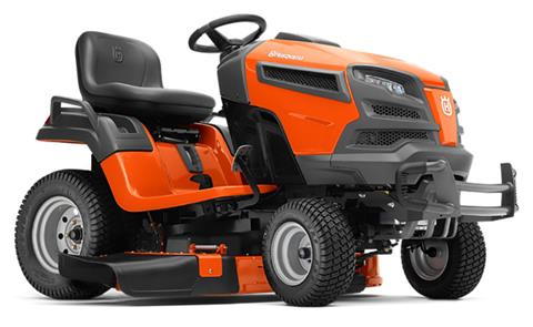 2019 Husqvarna Power Equipment YT42DXLS Lawn Tractor Kohler in Saint Johnsbury, Vermont