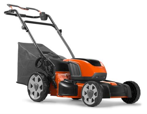 2019 Husqvarna Power Equipment LE121P 21 in. Walk Behind Mower w/ Batteries in Fairview, Utah