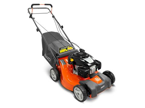 2019 Husqvarna Power Equipment L 221AK Walk Behind Mower Kohler in Saint Johnsbury, Vermont
