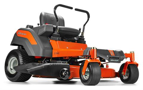 2019 Husqvarna Power Equipment Z246 46 in. Briggs & Stratton Carb Zero Turn Mower in Bigfork, Minnesota