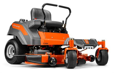 2019 Husqvarna Power Equipment Z248F 48 in. Kawasaki Zero Turn Mower in Bigfork, Minnesota