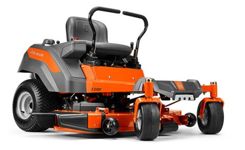 2019 Husqvarna Power Equipment Z254F 54 in. Kawasaki Zero Turn Mower in Bigfork, Minnesota