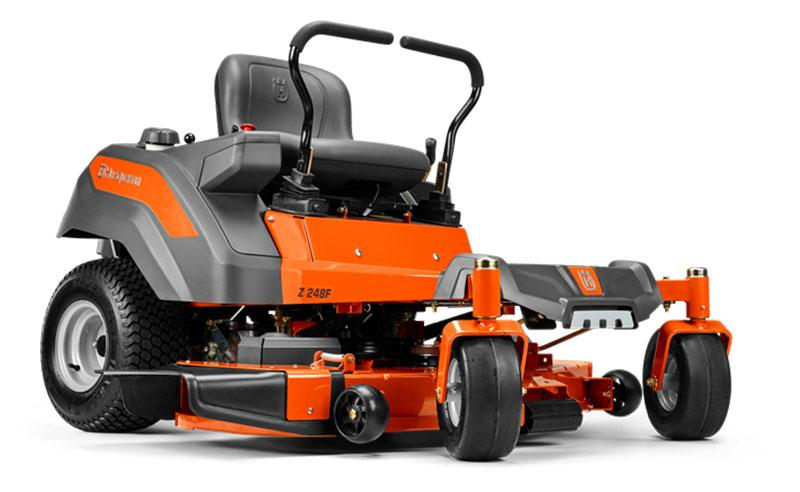 2019 Husqvarna Power Equipment Z254F 54 in. Kawasaki Zero Turn Mower in Gaylord, Michigan