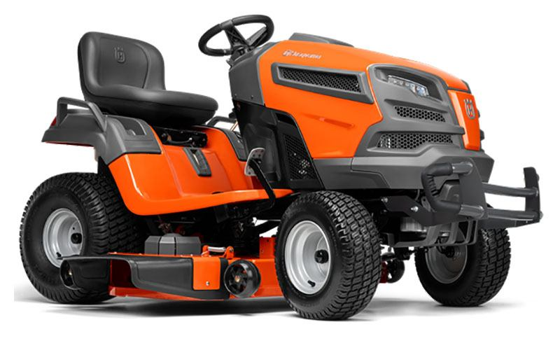 2019 Husqvarna Power Equipment YT48DXLS Lawn Tractor Kohler in Gaylord, Michigan