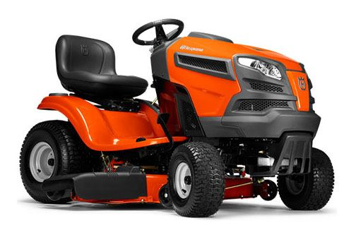 2019 Husqvarna Power Equipment YTH18542 Lawn Tractor Briggs & Stratton in Chillicothe, Missouri