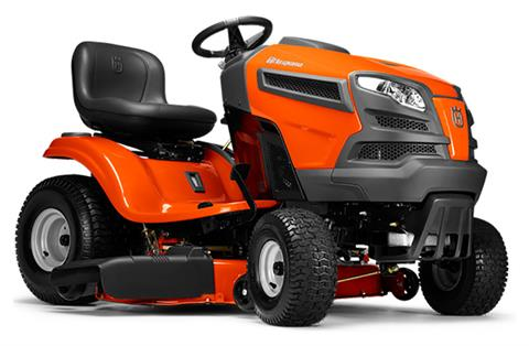 2019 Husqvarna Power Equipment YTH22V46 Lawn Tractor Briggs & Stratton in Berlin, New Hampshire
