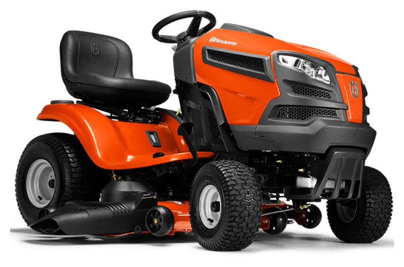 2019 Husqvarna Power Equipment YTH24V48 Lawn Tractor Briggs & Stratton in Berlin, New Hampshire