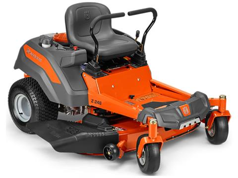 2019 Husqvarna Power Equipment Z142 42 in. Kohler Zero Turn Mower in Soldotna, Alaska