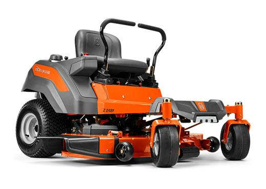2019 Husqvarna Power Equipment Z248F 48 in. Kohler Zero Turn Mower in Gaylord, Michigan
