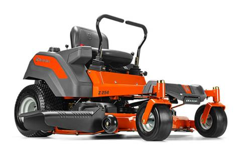 2019 Husqvarna Power Equipment Z254 54 in. Kohler Zero Turn Mower in Bigfork, Minnesota