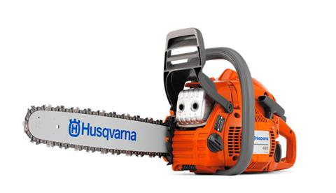 2019 Husqvarna Power Equipment 445 20 in. bar Assembled Chainsaw in Hancock, Wisconsin