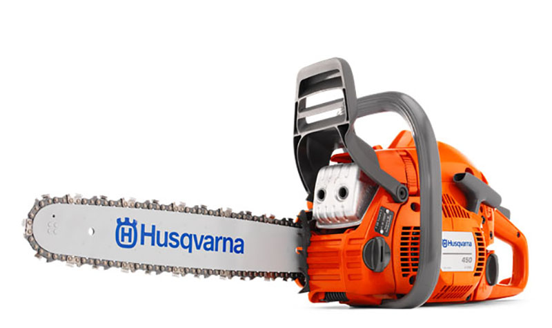 Husqvarna Power Equipment 450 20 in. bar Assembled Chainsaw in Berlin, New Hampshire