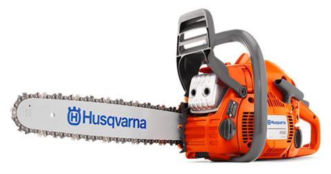 2019 Husqvarna Power Equipment 450 e-series 20 in. bar Chainsaw in Hancock, Wisconsin