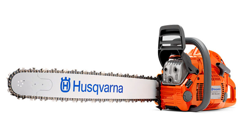 Husqvarna Power Equipment 465 Rancher 24 in. bar Chainsaw in Berlin, New Hampshire