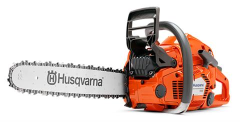 Husqvarna Power Equipment 545 16 in. RSN bar Chainsaw in Berlin, New Hampshire