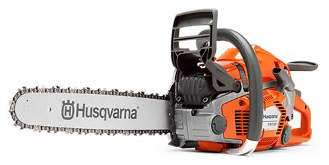 Husqvarna Power Equipment 550 XP TrioBrake 20 in. bar Chainsaw in Hancock, Wisconsin