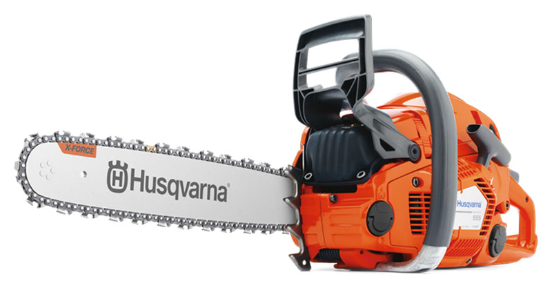 Husqvarna Power Equipment 555 18 in. bar Chainsaw in Berlin, New Hampshire - Photo 1