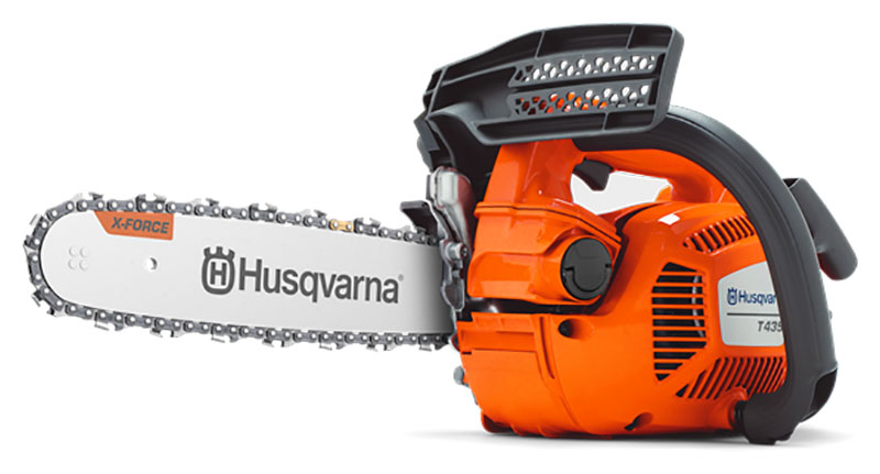 Husqvarna Power Equipment T435 12 in. bar Chainsaw in Berlin, New Hampshire
