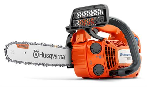 Husqvarna Power Equipment T525 12 in. bar Chainsaw in Berlin, New Hampshire