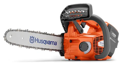 2019 Husqvarna Power Equipment T535i XP 12 in. bar Battery powered Chainsaw in Gaylord, Michigan