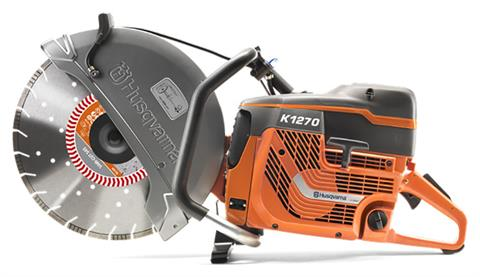 2019 Husqvarna Power Equipment K 1270 Power Cutter in Berlin, New Hampshire