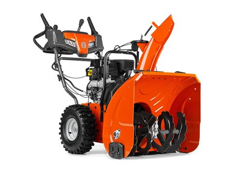 2019 Husqvarna Power Equipment ST 224P Snowblower in Saint Johnsbury, Vermont