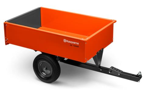 2020 Husqvarna Power Equipment 12 Cu. Ft. Steel Swivel Dump Cart in Petersburg, West Virginia
