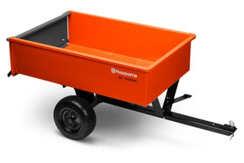 2020 Husqvarna Power Equipment 12 Cu. Ft. Welded Steel Dump cart in Petersburg, West Virginia