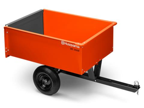 2020 Husqvarna Power Equipment 9 Cu. Ft. Steel Dump Cart in Petersburg, West Virginia