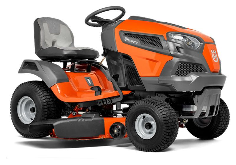 2020 Husqvarna Power Equipment TS 142 42 in. Briggs & Stratton 18.5 hp in Francis Creek, Wisconsin