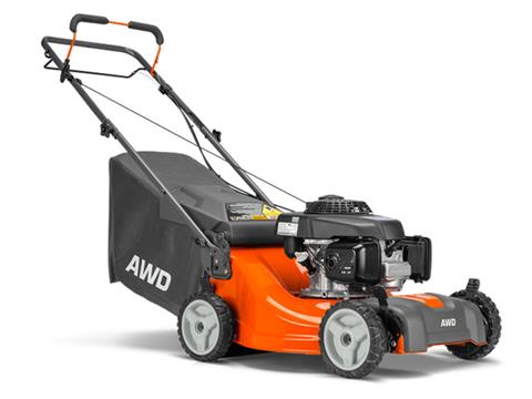 2020 Husqvarna Power Equipment L221A 21 in. Briggs & Stratton AWD in Francis Creek, Wisconsin