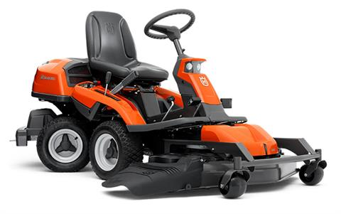 2019 Husqvarna Power Equipment R322T AWD 41 in. Side Discharge Briggs & Stratton Endurance series 16.9 hp in Berlin, New Hampshire