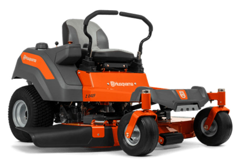 2021 Husqvarna Power Equipment Z242F 42 in. Kawasaki FR Series 18 hp in Duncansville, Pennsylvania - Photo 1