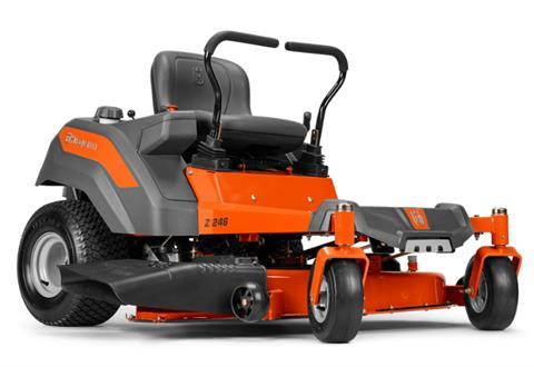 2021 Husqvarna Power Equipment Z246 46 in. Briggs & Stratton Endurance Series 20 hp in Berlin, New Hampshire