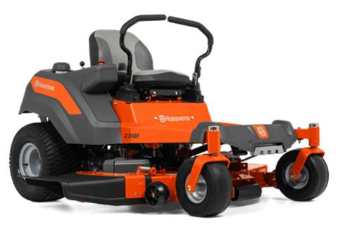 2021 Husqvarna Power Equipment Z248F 48 in. Kawasaki FR Series 21.5 hp in Prairie Du Chien, Wisconsin - Photo 1
