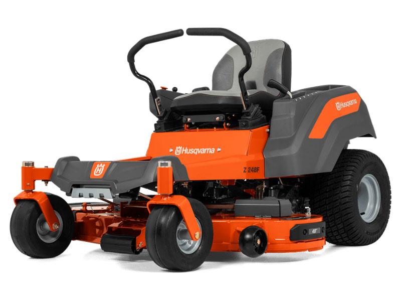 2021 Husqvarna Power Equipment Z248F 48 in. Kawasaki FR Series 21.5 hp in Prairie Du Chien, Wisconsin - Photo 2