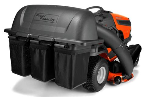 2021 Husqvarna Power Equipment Collector 3 Bag 46 and 48 in. Stamped Deck Tractor in Melissa, Texas