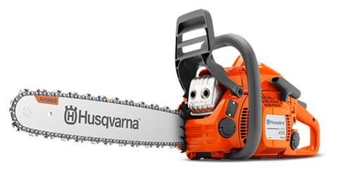 Husqvarna Power Equipment 435e II 16 in. 2 pack Chainsaw in Berlin, New Hampshire