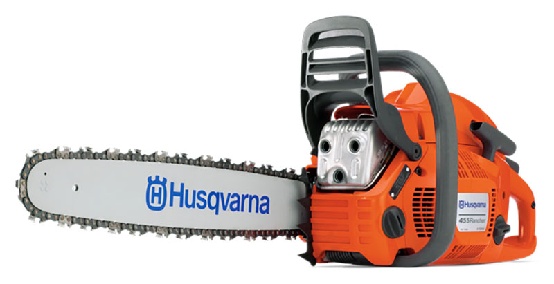 2019 Husqvarna Power Equipment 455 Rancher Chainsaw 3.49 hp in Berlin, New Hampshire