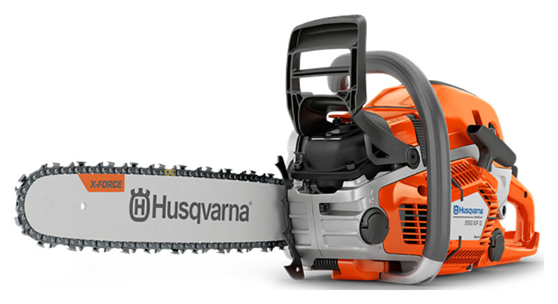 Husqvarna Power Equipment 550 XP G Mark II 18 in. bar Chainsaw in Berlin, New Hampshire