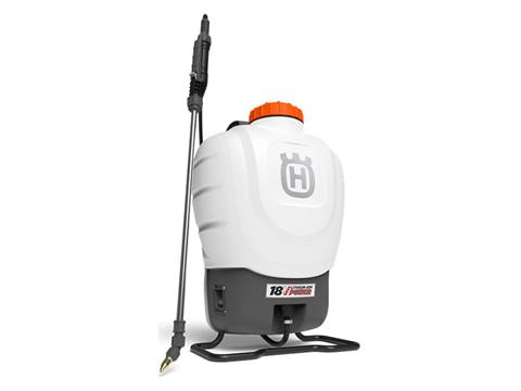 2021 Husqvarna Power Equipment 4 Gallon Battery Backpack Sprayer in Petersburg, West Virginia