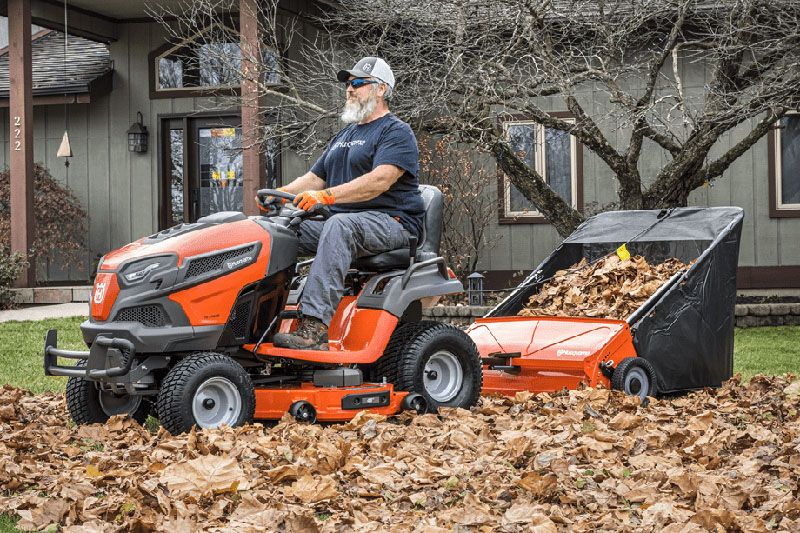 2021 Husqvarna Power Equipment 42 in. Lawn Sweeper in Melissa, Texas - Photo 3