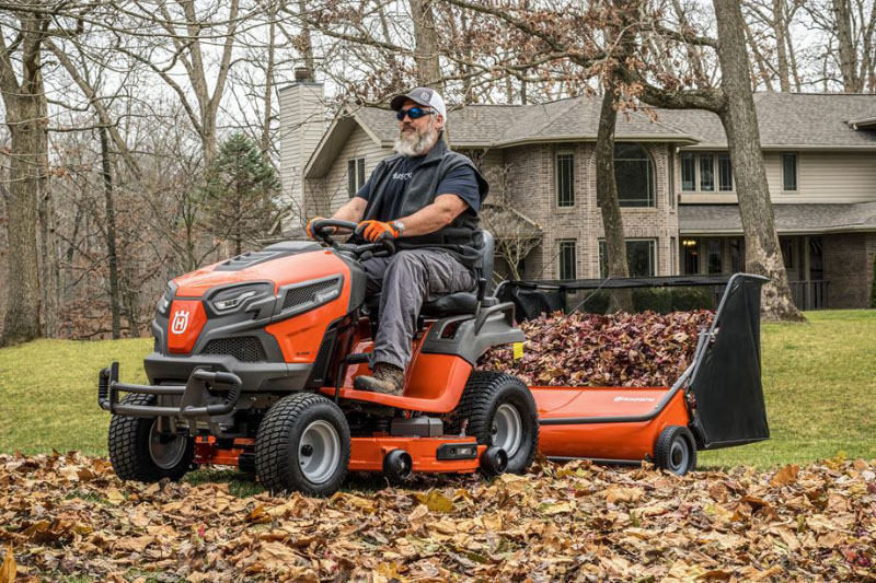 2021 Husqvarna Power Equipment 52 in. Lawn Sweeper in Duncansville, Pennsylvania - Photo 3