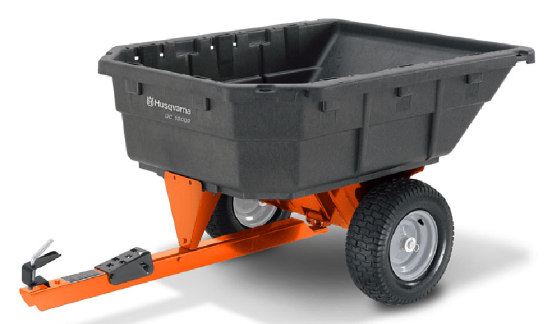 2021 Husqvarna Power Equipment 12.5 Cu. Ft. Poly Swivel Dump Cart in Warrenton, Oregon